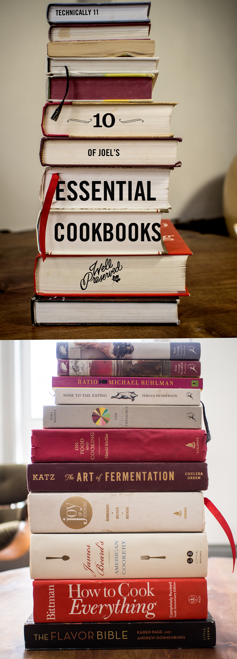 10 Essential Cookbooks